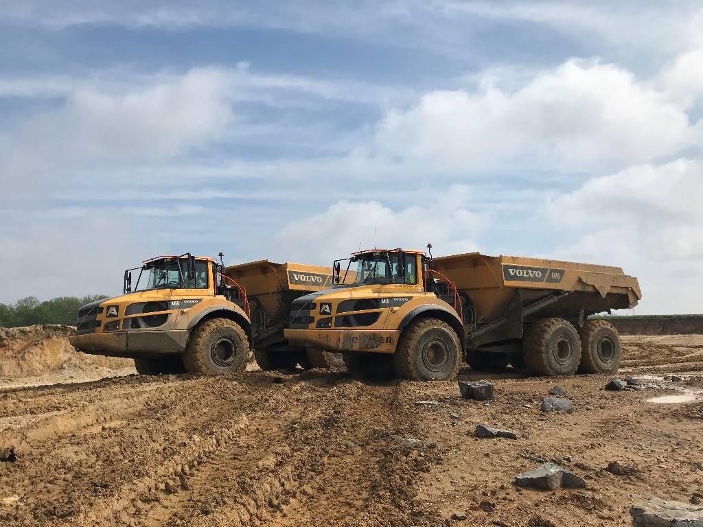 Volvo A 45 G, Articulated Dump Trucks (ADTs), Construction