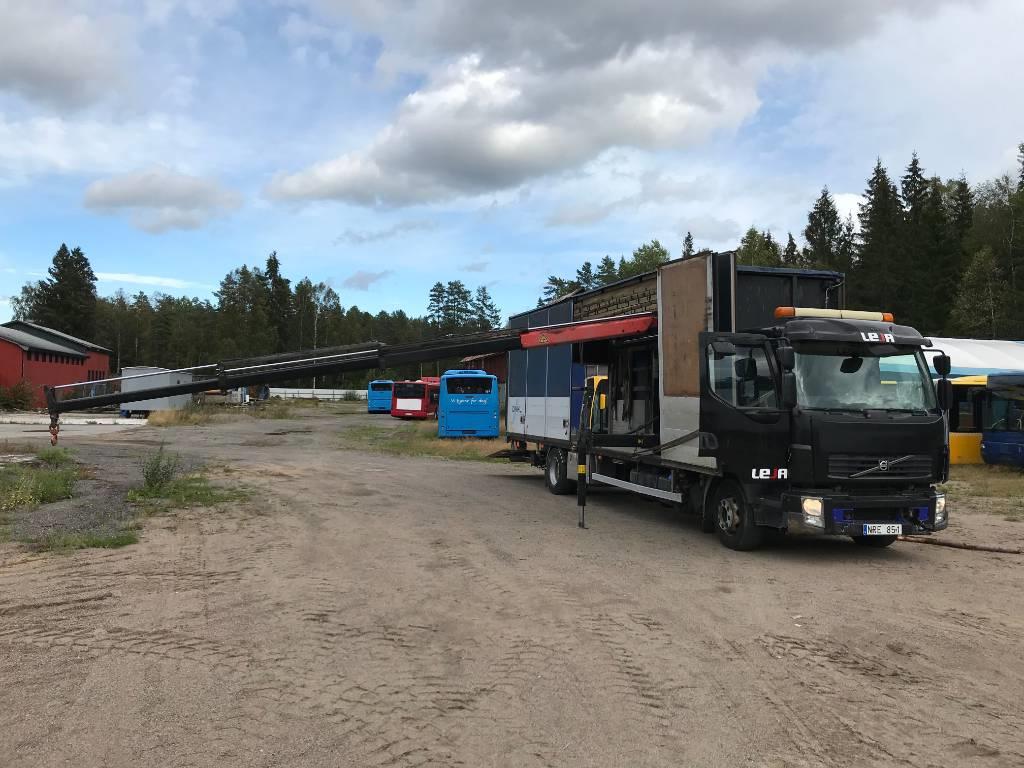 Volvo FL280, Kranbilar, Transportfordon