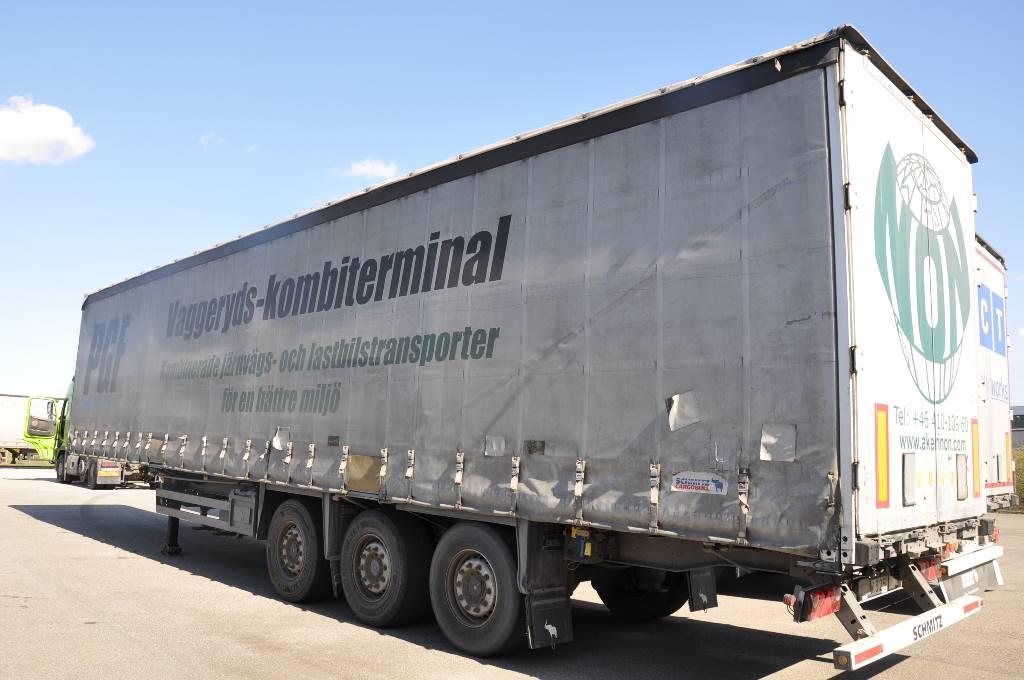Schmitz Cargobull S01, Kapelltrailer, Transportfordon