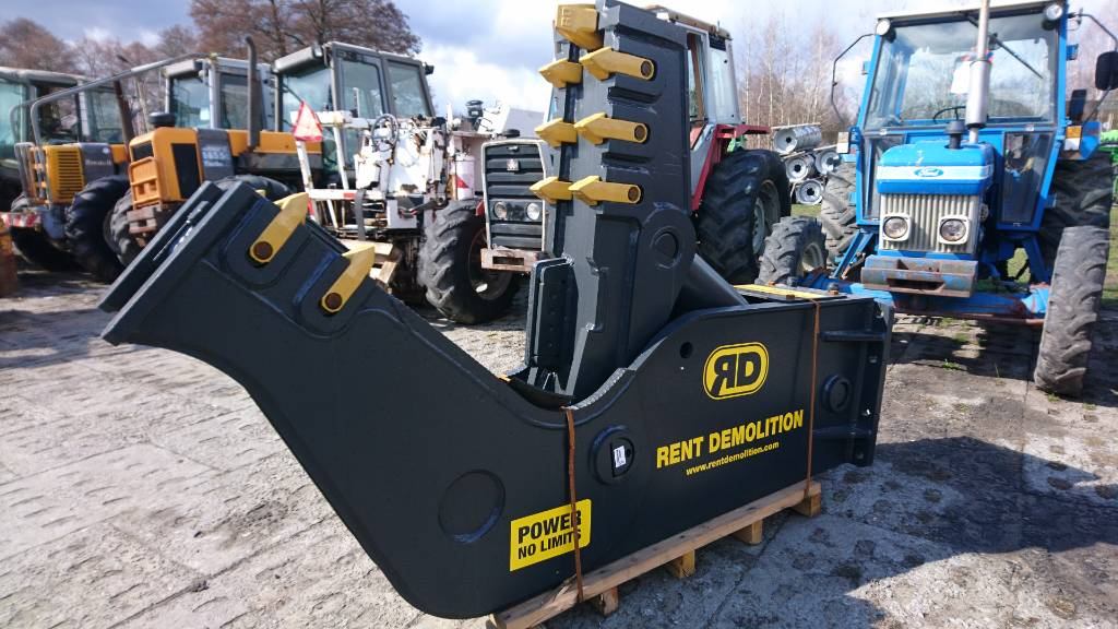 Rent Demolition D 23, Kruszarki budowlane, Maszyny budowlane