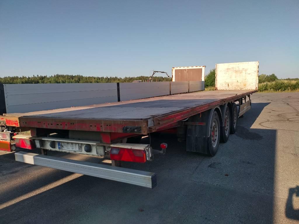 Berger avopuolikas 13,60m, leima 04/2022, Lavapuoliperävaunut, Kuljetuskalusto