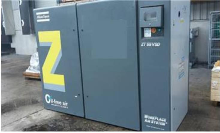 Atlas Copco ZT 55 VSD, Compressors, Industrial