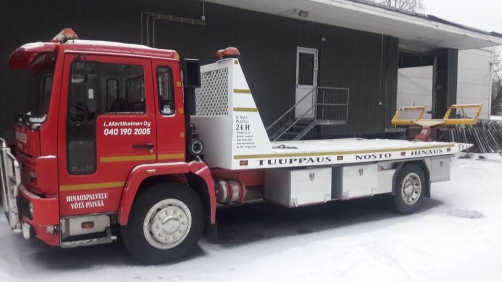 Volvo FL 614, Lava / vinssi kuorma-autot, Kuljetuskalusto