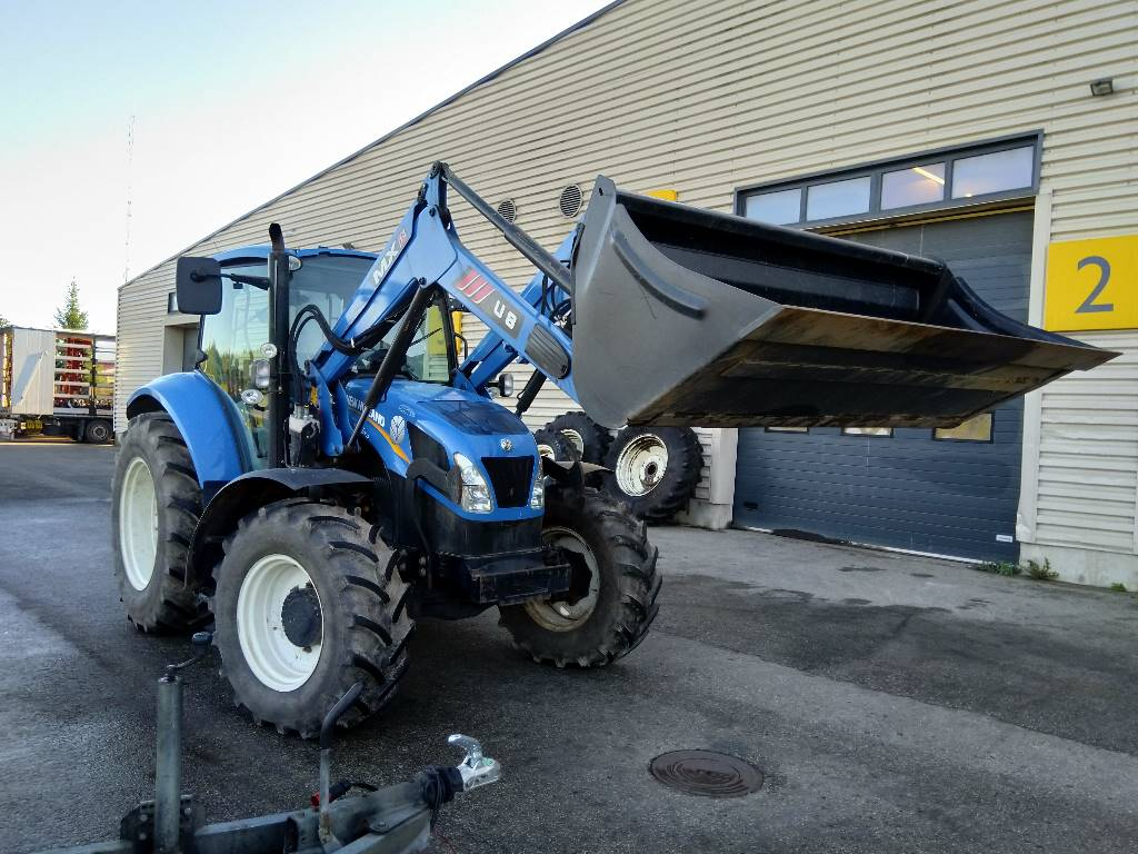 New Holland T 5.105, Traktorid, Põllumajandus