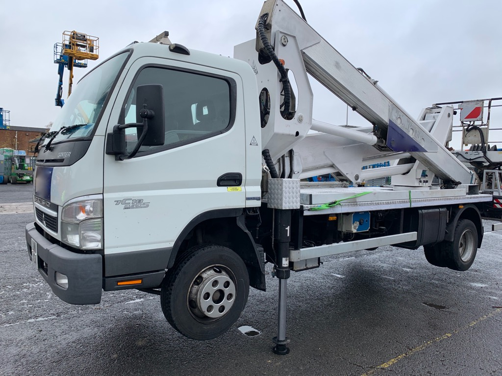 Multitel MZ270, Truck mounted aerial platforms, Construction