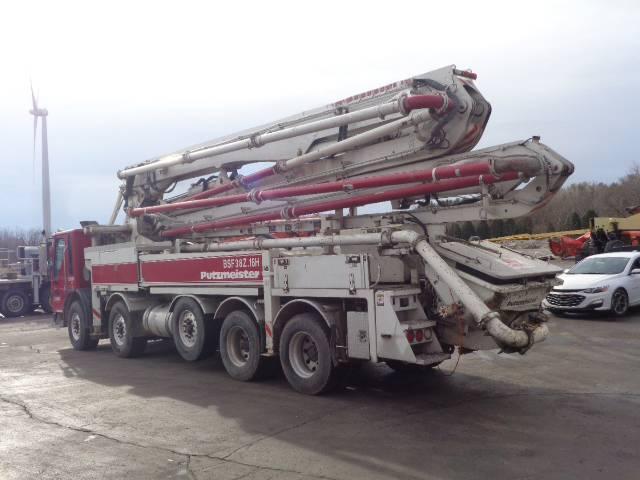 Putzmeister BSF 38Z.16H, Boom Pumps, Construction Equipment