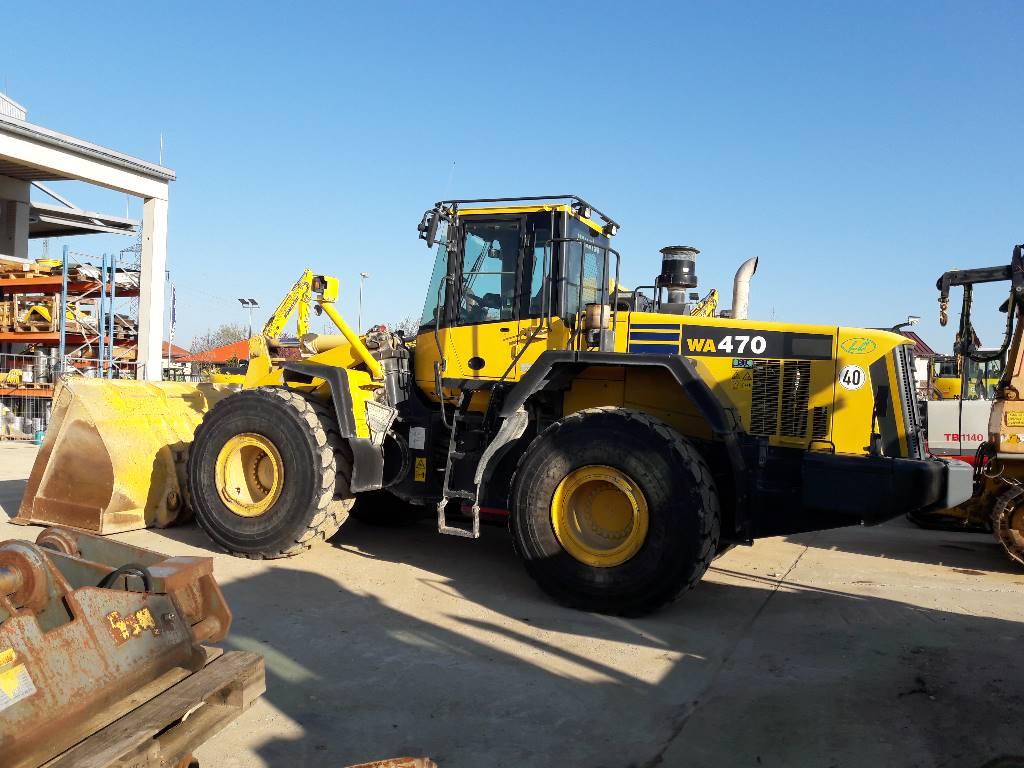 Komatsu WA470LC-6, Wheel Loaders, Construction Equipment