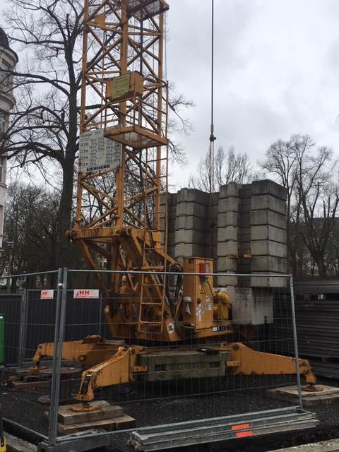 Liebherr 35K, Turmdrehkrane, Baumaschinen