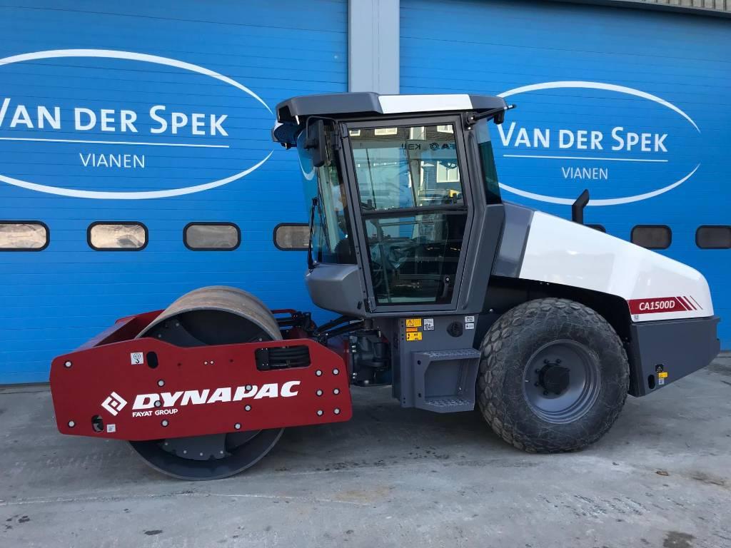 Dynapac CA 1500 D, Trilrolwalsen, Bouw