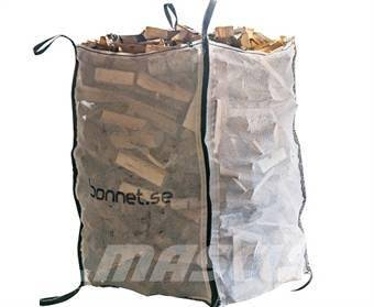 Bonnet Vedsäckar 1.5 M3, Vedklyvar och vedkapar, Skogsmaskiner