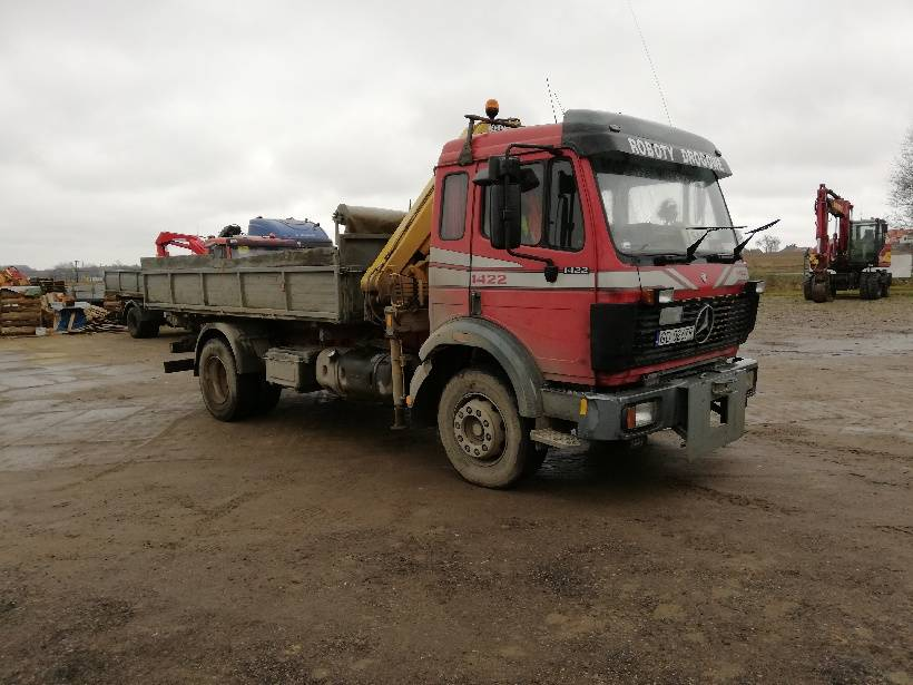 Mercedes-Benz 1422 without kipper and crane, Wywrotki, Transport