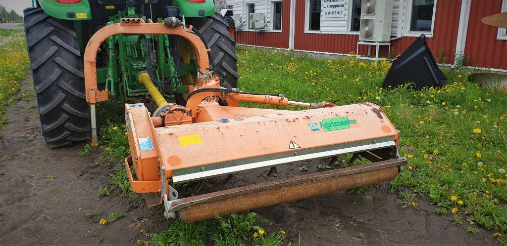 Agrimaster FL 160, Kesantoleikkurit ja -murskaimet, Maatalous
