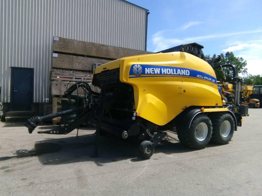 New Holland RollBaler135 combi, Heinapressid, Põllumajandus