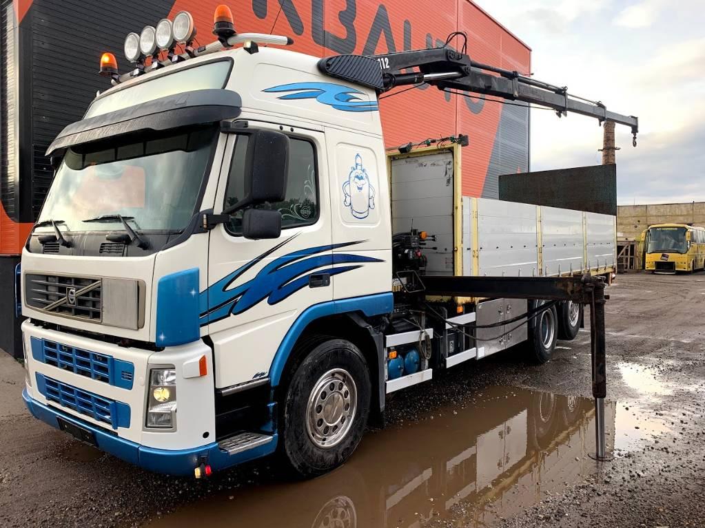Volvo FM9 Hiab 112, Boom / Crane / Bucket Trucks, Trucks and Trailers