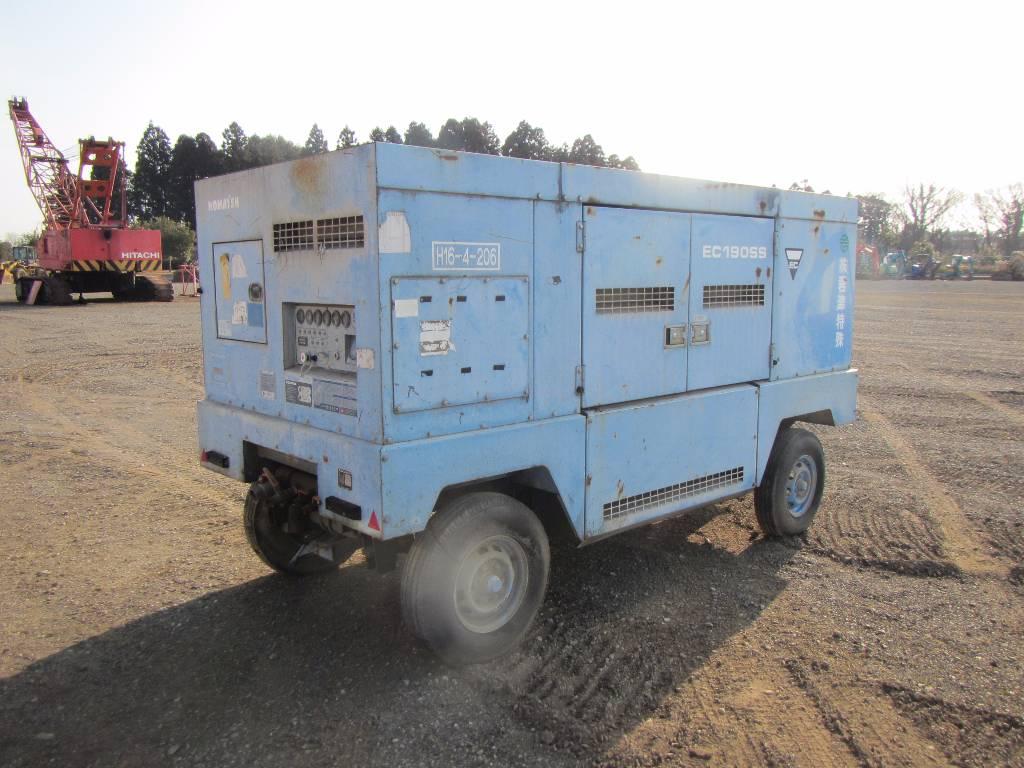 Komatsu EC190SS-3, Compressors, Construction