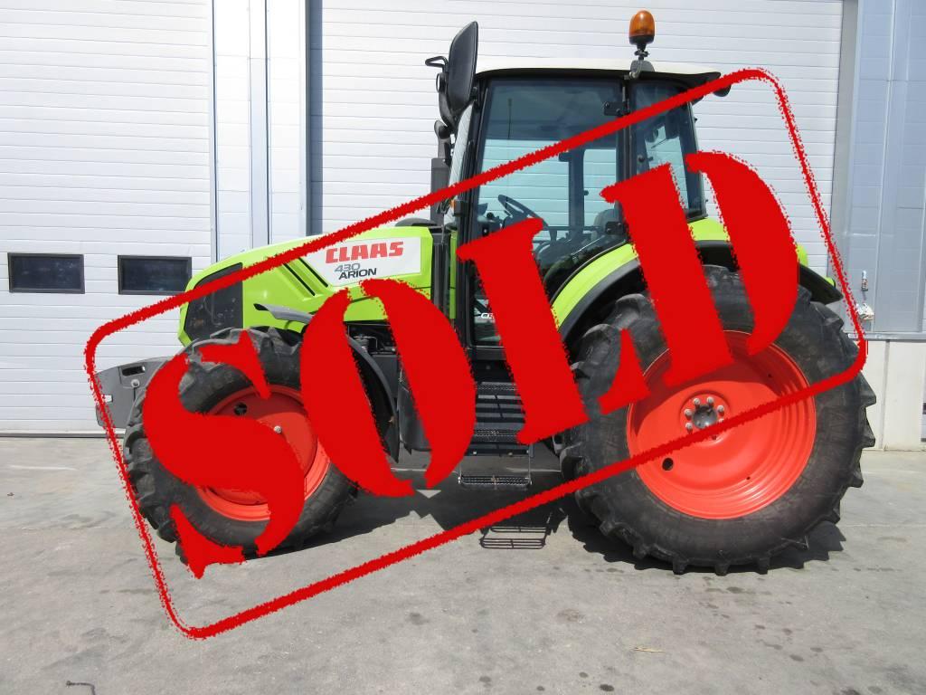 CLAAS Arion 430 CIS, Traktorid, Põllumajandus