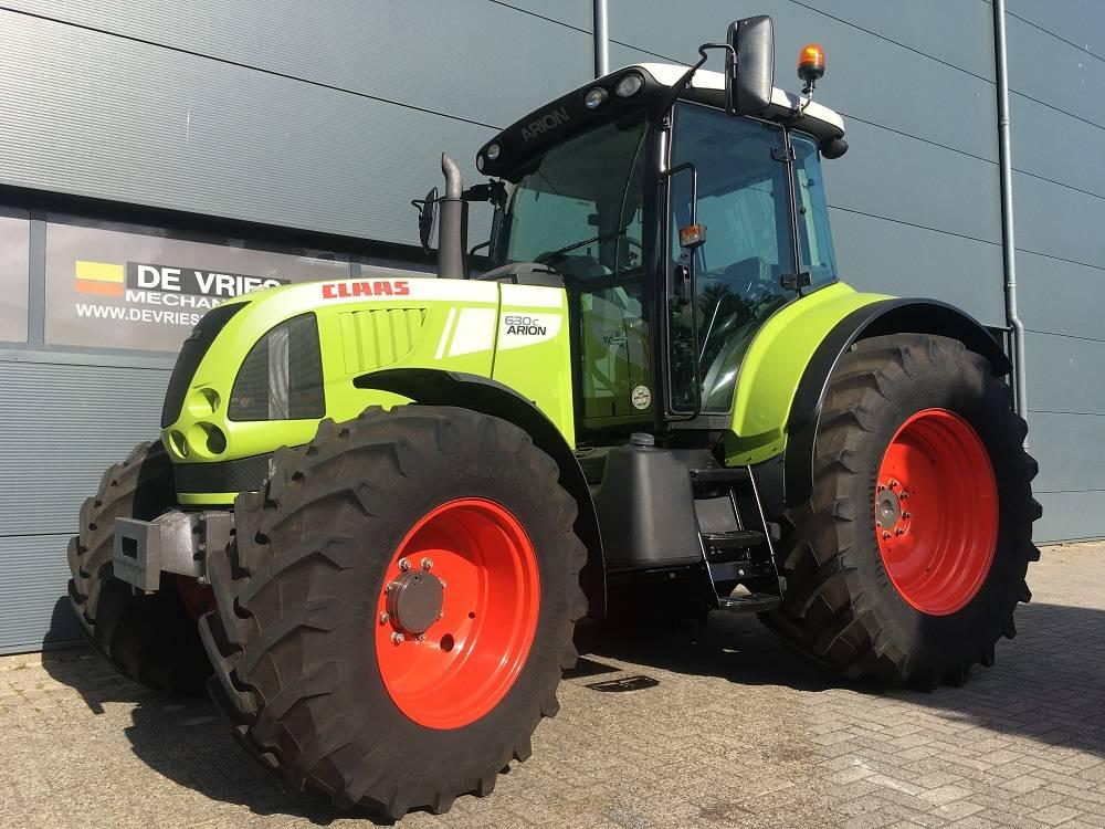 CLAAS Arion 630 C, Tractoren, Landbouw
