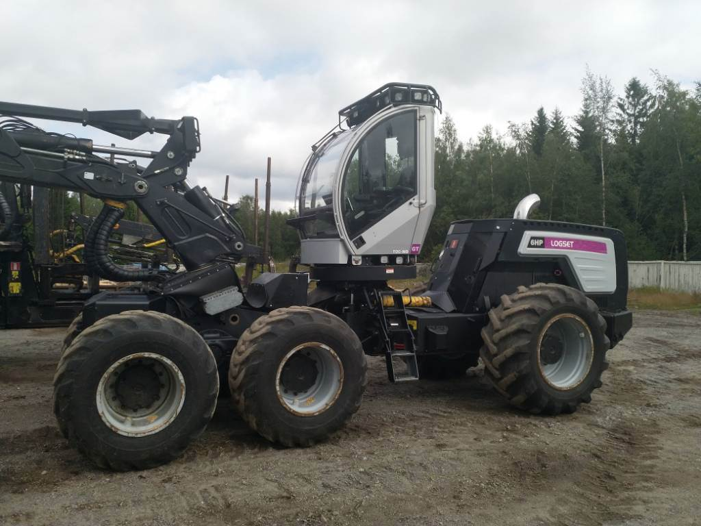 Logset 6HP GT, Harvesters, Forestry