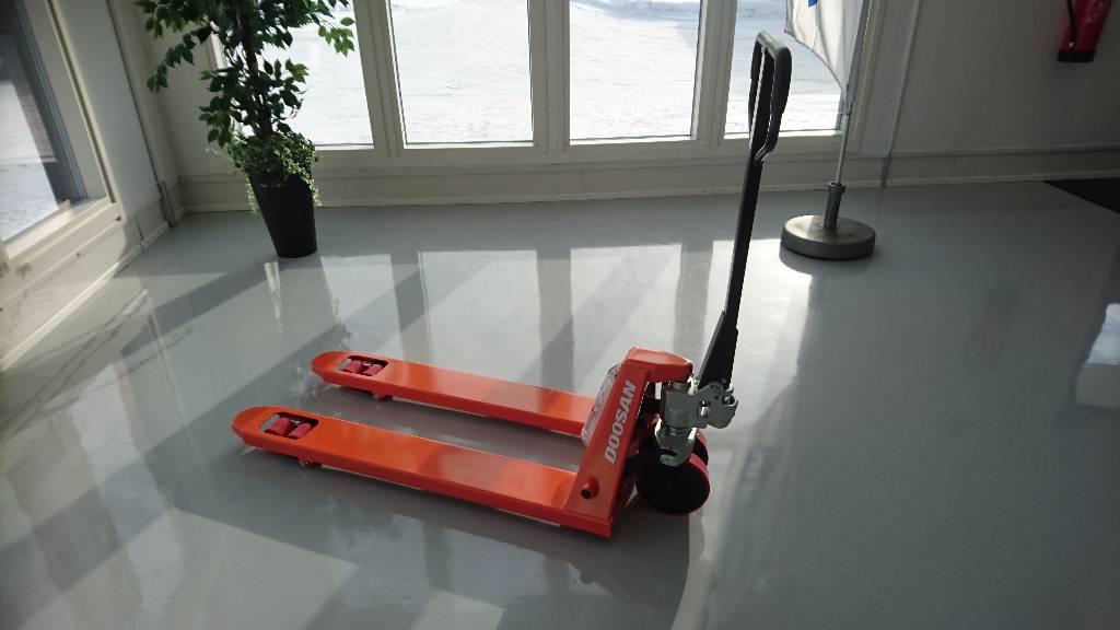 Doosan HPT-A pumppukärry, Pumppukärryt, Materiaalinkäsittely