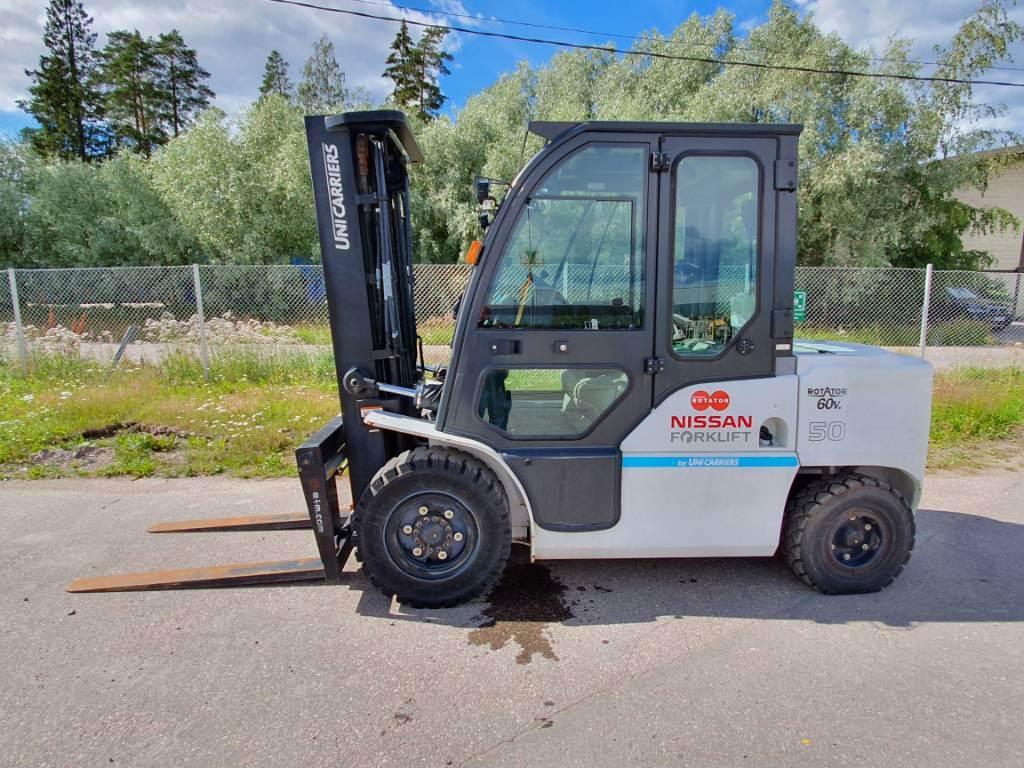 Nissan DG1F4A50A, Dieseltrukit, Materiaalinkäsittely