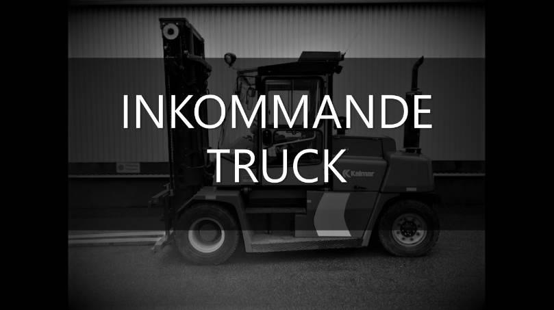 Kalmar DCE 80-6 HE, Dieselmotviktstruckar, Materialhantering