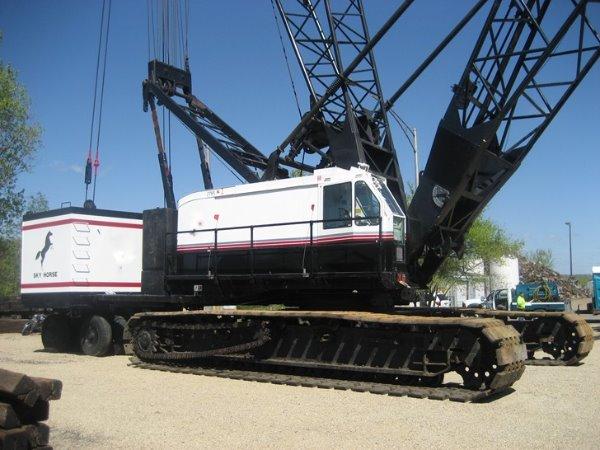 American 9310 C107, Crawler Cranes, Construction Equipment