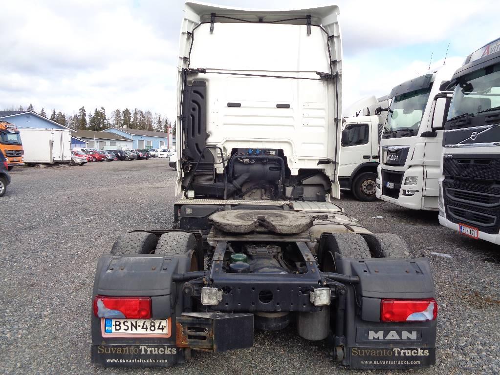 MAN TGX18.440, Vetopöytäautot, Kuljetuskalusto