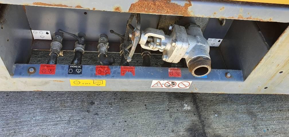 Atlas Copco XRXS 567 CD, Compresores, Construcción