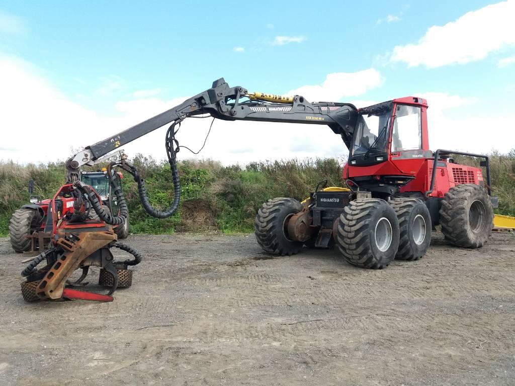 Komatsu 941.1, Harvesters, Forestry Equipment
