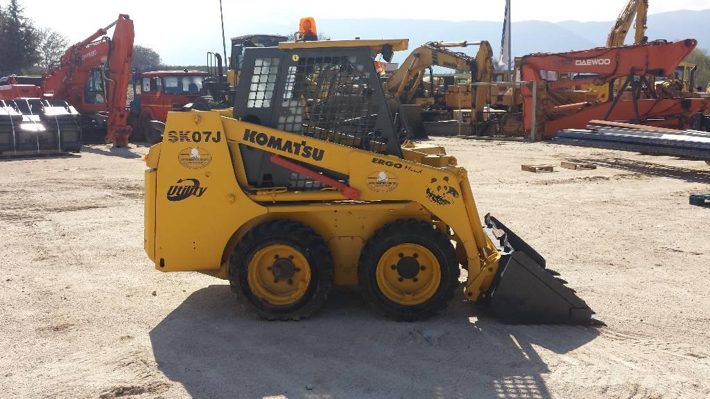 Komatsu SK07J, Skid Steer Loaders, Construction Equipment