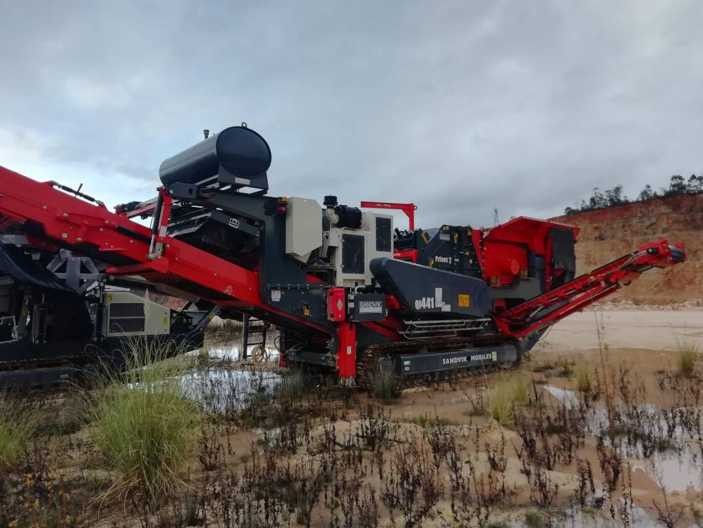 Sandvik QI441, Crushers, Construction Equipment