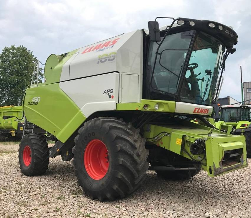 CLAAS Tucano 430, Combine harvesters, Agriculture
