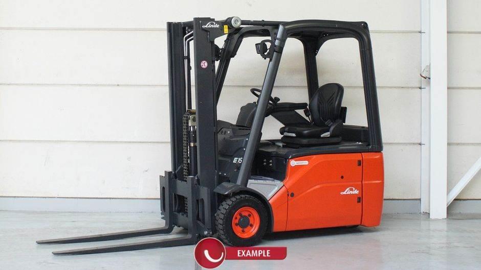 Linde E16 386 Serie, Electric Forklifts, Material Handling