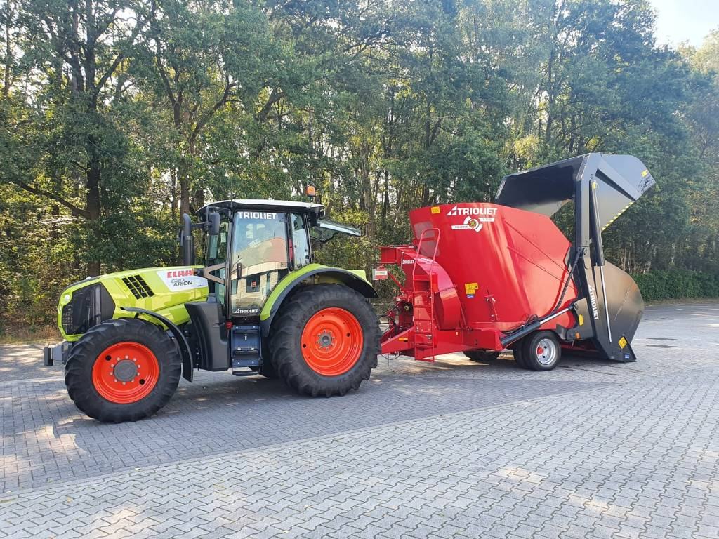 Trioliet Triomix P 1 1200 AL, Voermengwagens zelfladend, Landbouw