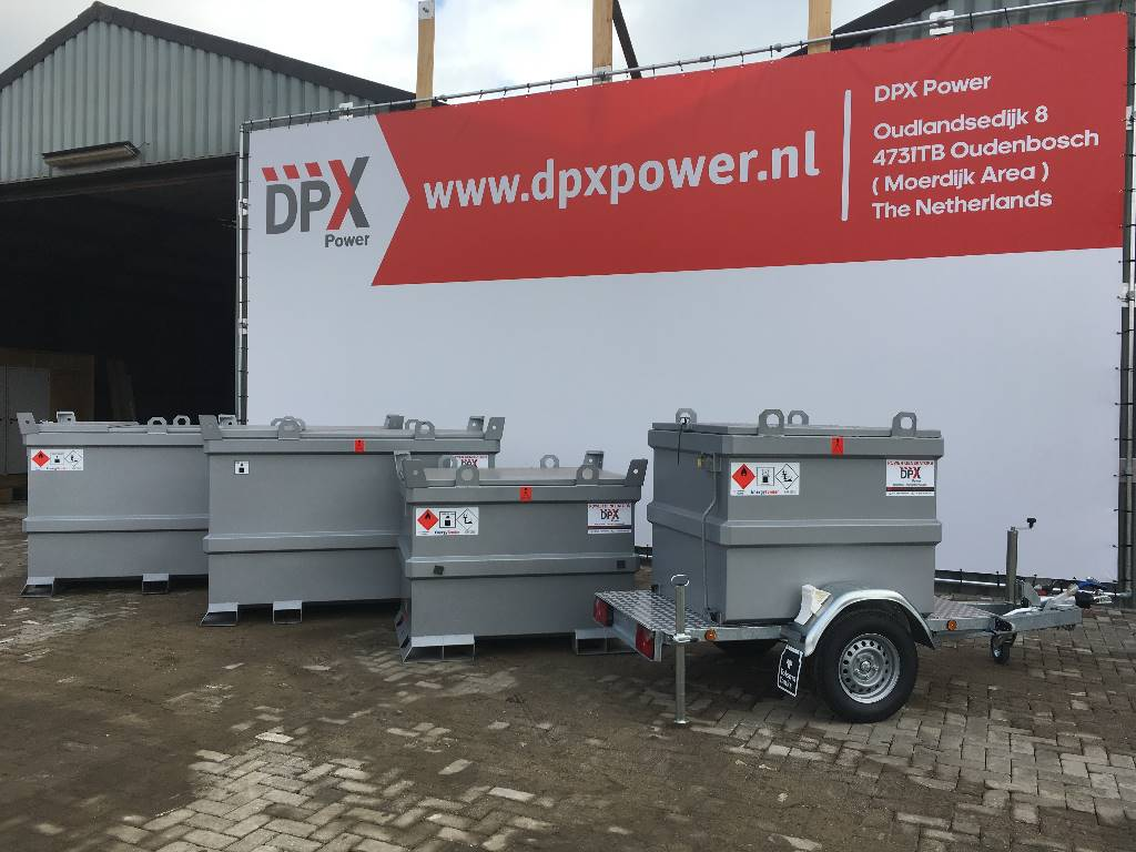 [Other] New Diesel Fuel Tank 1.600 Liter - DPX-31022B, Anders, Bouw