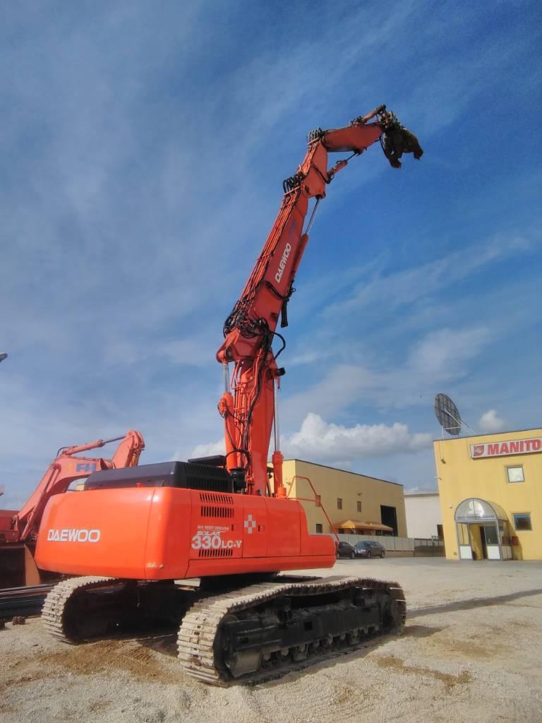 Daewoo SL330LC-V DEMOLITION, Crawler Excavators, Construction Equipment