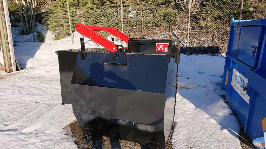 [Other] Wikers ADR 1600 L, Redskap till skogsmaskiner, Skogsmaskiner