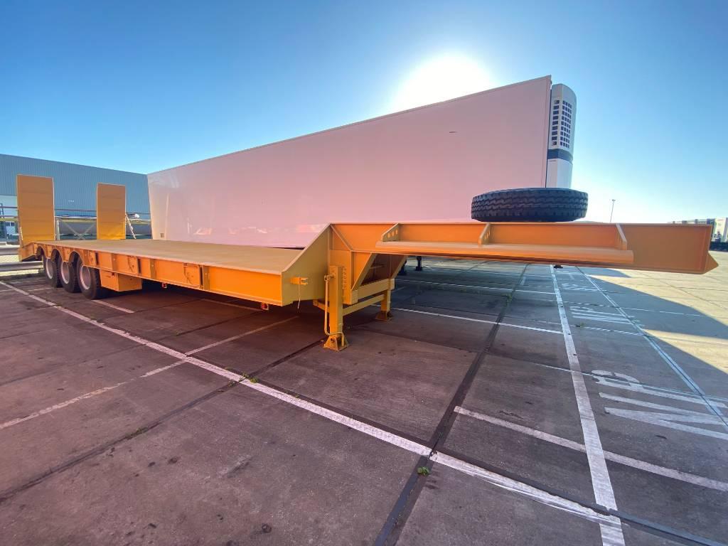 KM-Tube KM  75ton semi LOWBED, Low loader-semi-trailers, Transportation