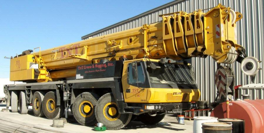 Grove GMK 6300, All Terrain Cranes and Hydraulic Truck Cranes, Construction Equipment