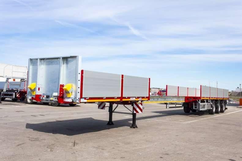 Faymonville - Max Trailer 210A Åpen trailer med uttrekk tot 21, Planhengere, Transport