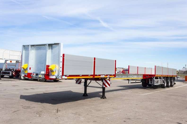 Faymonville - Max Trailer 210A uttrekk til 21m1, Planhengere, Transport