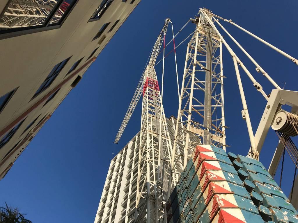 Demag CC 2800-1, Crawler Cranes, Construction Equipment