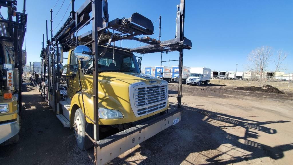 60144 Freightliner, Car Haulers, Trucks and Trailers
