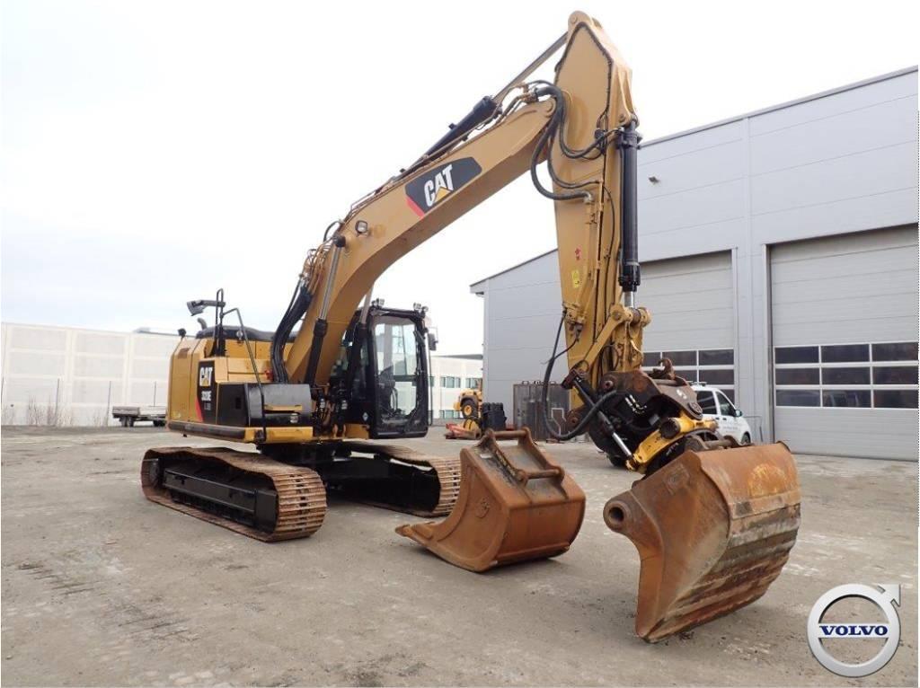 Caterpillar 320 EL RR, Crawler Excavators, Construction Equipment
