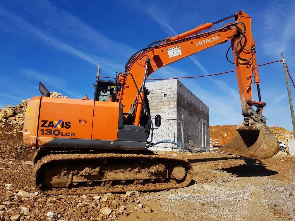Hitachi ZX130LCN, Crawler Excavators, Construction Equipment