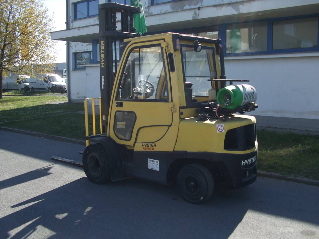 Hyster H3.5FT, LPG counterbalance Forklifts, Material Handling
