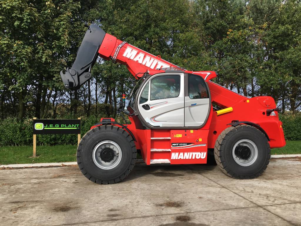 Manitou MHT 10180, Telescopic handlers, Construction