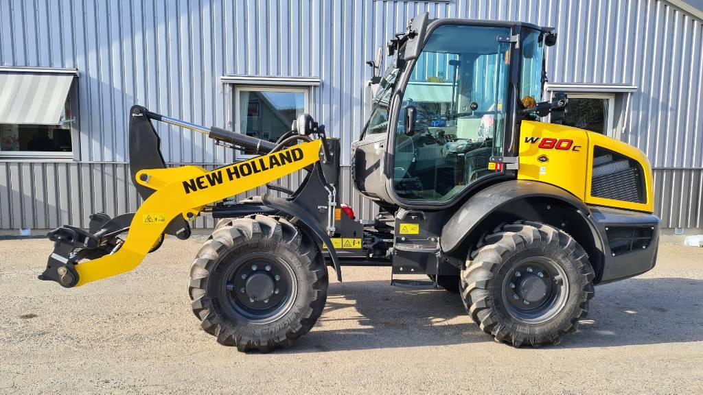 New Holland W 80 C Stage V, Hjullastare, Entreprenad
