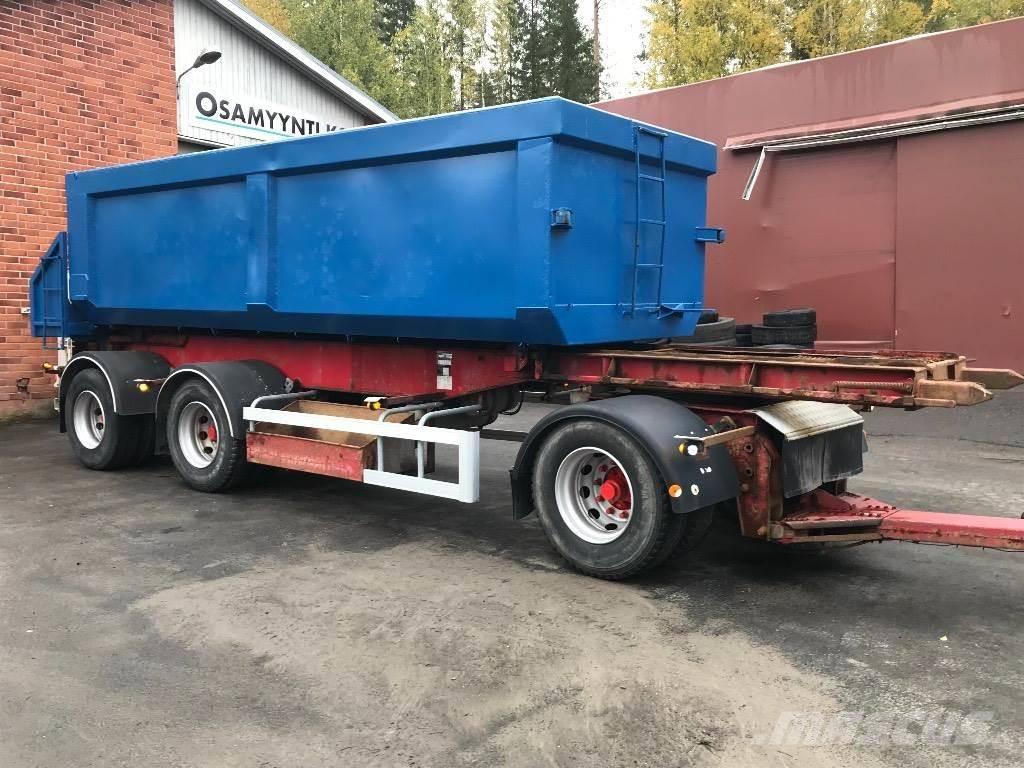SLP kippaava kasettiperävaunu Övriga -3-8200-Ks, Sora- ja kippiperävaunut, Kuljetuskalusto