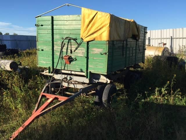 [Other] Vagn 4-hjuls vagn 7 Ton, Spannmålsvagnar, Lantbruk